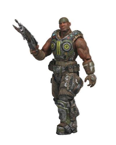 NECA - Gears of War 3, Serie 2: Cole, Una cifra di 10 cm, Scala 3/4 (NEC0NC52232)