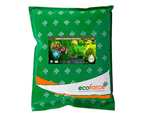 CULTIVERS Abono Ecológico Universal de 5 kg. Fertilizante granulado con NPK 8-1-5+74% M.O. y Ác. Húmicos. Liberación Lenta. Potencia el Crecimiento y estimula el cultivo. FRUTELLA