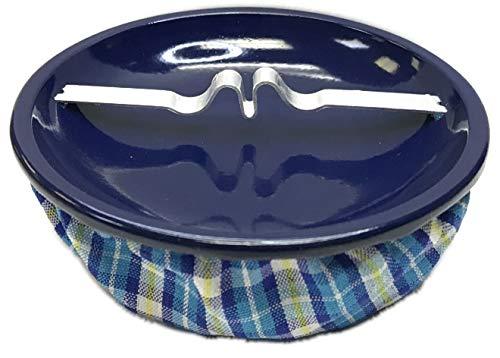 HHB Eclipse Blue Weighted Bean Bag Sandbag Style Ashtray, Home Holiday Decor, ASH11BLBL
