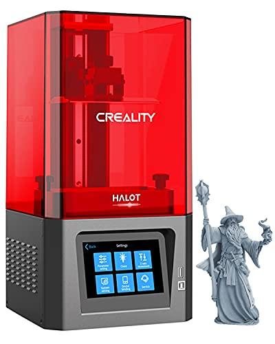 Creality Halot One Stampante 3D Resin con 6 pollici 2K monocromatico 2650X1620 LCD MSLA UV Photocuring, sorgente luminosa integrata, Wi-Fi integrato, dimensioni di stampa 127x80x160mm CL-60
