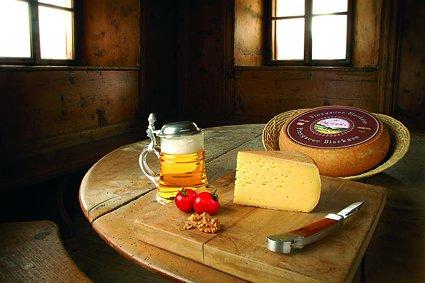 Pinzgauer Bier Käse Österreich