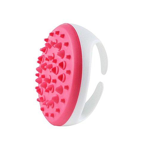 Naisicatar Anti Cellulite Masseur Brosse de Massage Kits de Masseurs Outils de Massage du Corps d'élimination des Graisses Pinceau de Massage Réduction de Poids Rose X 1