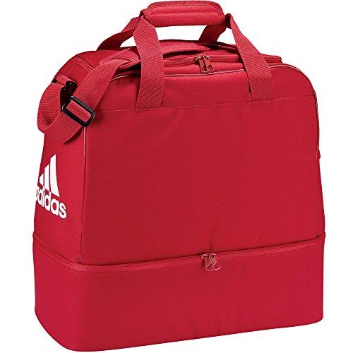 adidas Teambag mit Bodenfach - Medium - Sporttasche - F86722 - rot, Größe:M