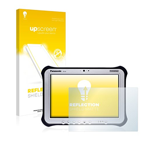 upscreen Entspiegelungs-Schutzfolie kompatibel mit Panasonic Toughpad FZ-G1 – Anti-Reflex Bildschirmschutz-Folie Matt