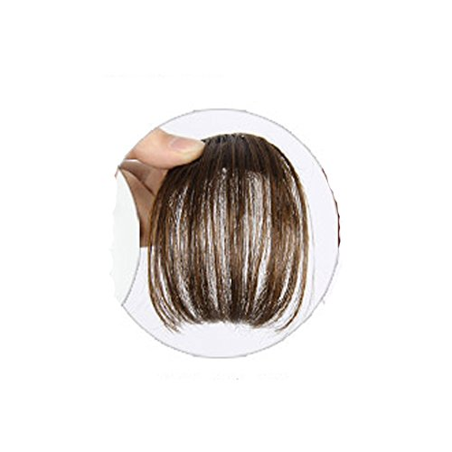 Cexin Extensions de cheveux à clipser pour frange