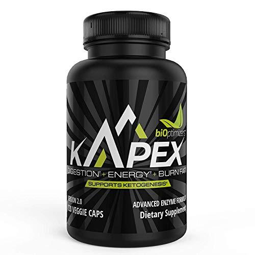 kApex Ketogener Optimierer – V2.0 - Kick Dein Keto In Den Overdrive - darf schnell Fett verbrennen - kann die Energie erhöhen - kann den Stoffwechsel verbessern (120 Kapseln)
