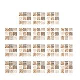 GARNECK 18 Piezas Pegatinas de Azulejos Decorativos Pegatina de Azulejos de Imitación Papeles de Pared Autoadhesivos Calcomanías de Azulejos Fondos de Pantalla de Bricolaje para La