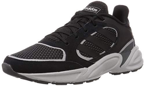 Adidas 90s VALASION, Zapatillas para Correr Hombre, Core Black/Core Black/Grey Six, 48 EU