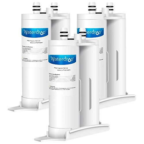 Waterdrop PureSource2 Water Filter, Compatible with WF2CB, NGFC2000, FC100, Kenmore 9916, 469916, EWF2CBPA, 1004-42-FA, Pack of 3