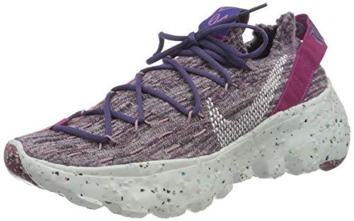 Nike Space Hippie 04, Scarpe da Ginnastica Donna, Cactus Flower/Photon Dust-Gravity Purple, 36.5 EU