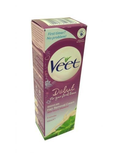 3 x Veet Debut 5 Minute Hair Removal Cream For Your First Time by Veet