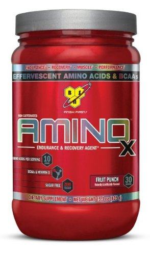 BSN AMINO X - Fruit Punch, 15.3 oz (30 Servings)
