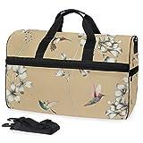 Amazilia 3 bolsa de viaje grande para el fin de semana durante la noche bolsa de gimnasio bolsa de deporte con compartimento para zapatos