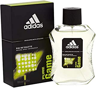 Pure Game by Adidas Eau de Toilette for Men, 100 ml