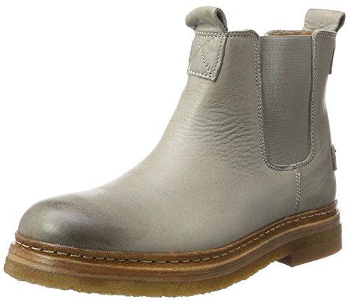 Shabbies Amsterdam Damen Chelsea Boots, Grau (Grey), 41 EU