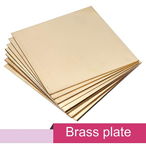 Read About Xucus H62 brass sheet 100100mm brass plate for DIY - (Thickness: 4.0mm)