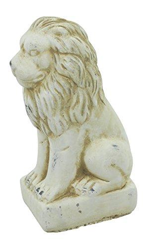Deko Tier-Figur Löwe klein creme