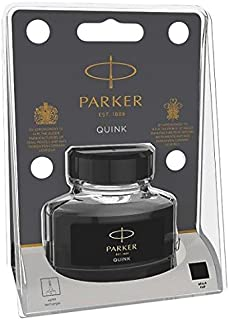 PARKER QUINK 钢笔墨水的 tintenfass in Blister - 包 , 57毫升 in Blister-Packung 黑色