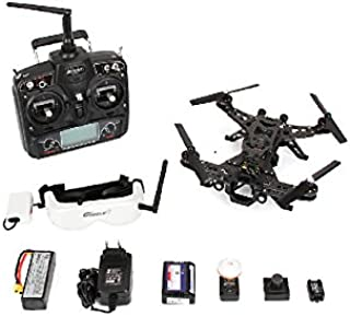 Xiangtat Walkera Runner 250 Drone Racer Modular Design Racing Devo 7 OSD Quadcopter Drone with Hd Camera Goggle 2 Glasses Image Transmission Module (Fpv Version)