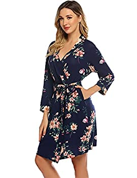 Best floral robes cheap Reviews