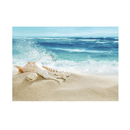 B Blesiya HD Wallpaper 3D Autocollant Fond Affiche Stickers Murale Papier Peint d'Aquarium Aquariophilie Décoration Chambre Décoration Murale - #7 61x30cm