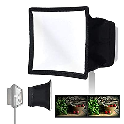 "Julius Studio 6"" x 6.7"" (15x17cm) Collapsible Light Diffuser, Mini Softbox for Camera Photo Video LED Light Panel, JSAG158"
