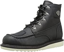 HARLEY-DAVIDSON FOOTWEAR Men's Hagerman Motorcycle Boot, Black, 10 Medium US