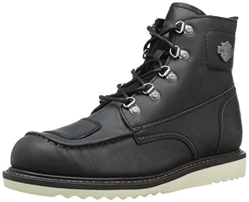 HARLEY-DAVIDSON FOOTWEAR Men's Hagerman Motorcycle Boot, black, 13 Medium US
