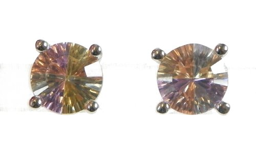 Orphelia Damen-Ohrstecker Rainbow Collection  925 Sterlingsilber Multicolor Zirkonia CC-47
