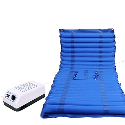 Colchón De Presión Alterna Colchón De Aire Anti-Decúbito Cojín De Aire con Microagujeros para Ancianos / Discapacitados Prevención contra El Acné con Orificios
