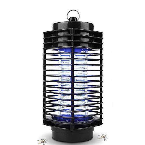 maxineer Lámpara Antimosquitos Eléctrico,UV LED Mosquito Lámpara Trampa,Matar Mosquitos,Fácil de Limpiar, Electrico Mosquito Killer Lámpara Anti Mosquitos Moscas para Exterior y Interior
