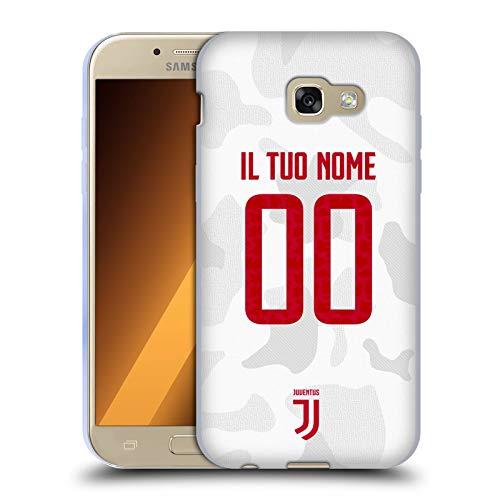 Head Case Designs Personalizzata Personale Juventus Football Club Fuori Casa Cover in Morbido Gel Compatibile con Samsung Galaxy A5 (2017)