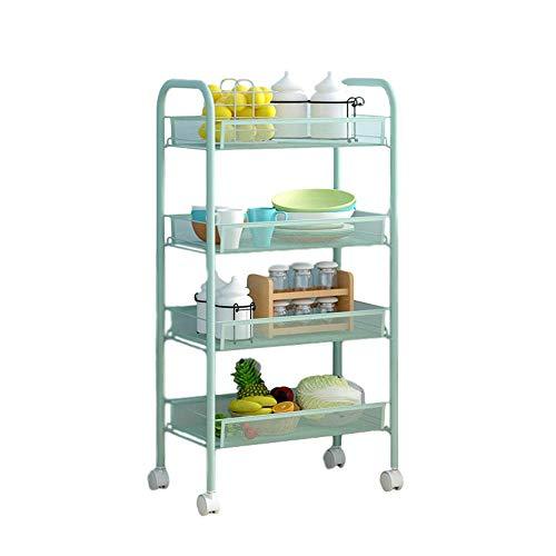 frutero con ruedas,carrito auxiliar cocina,El carrito de cocina multifuncional con ruedas es...