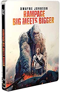 Rampage 3D Limited Edition Steelbook / Import / Includes 2D Blu Ray / Region Free.