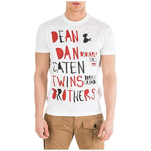 DSQUARED2 T-Shirt Primavera Estate 19 Taglia M