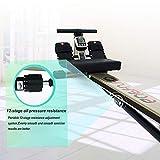 Angel Zuhause rudergerät 12-stufiger ÖldruckwiderstandRowing Machine Fitnessstudio Rower Fitness Cardio - 2