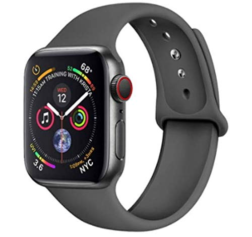 StyleDesign Correas Compatible con Apple Watch, Azul, M/L, 40/42mm