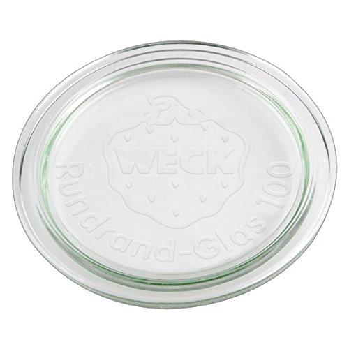 10x WECK-Glasdeckel RR100