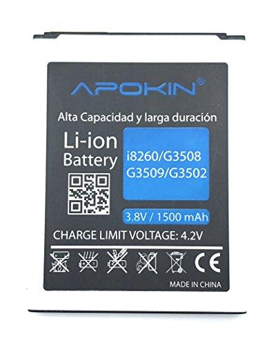 MovilCom Apokin Bateria EB150AE para Samsung Galaxy Core GT-i8260 | Galaxy Core Duos GT-i8262 | G3508 | G3509 | G3502