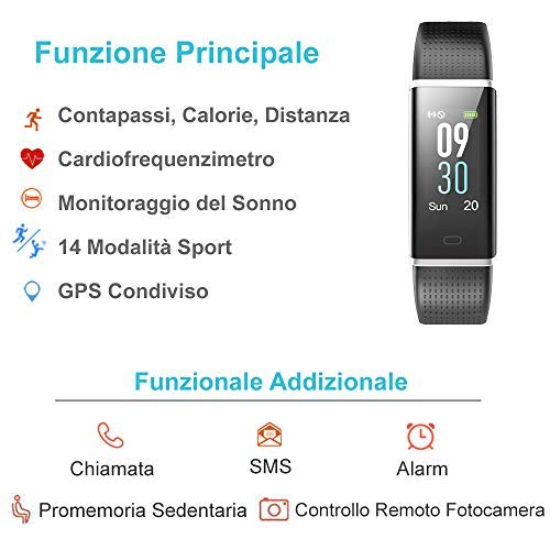 Willful Montre Fitness Tracker Smartwatch Android...