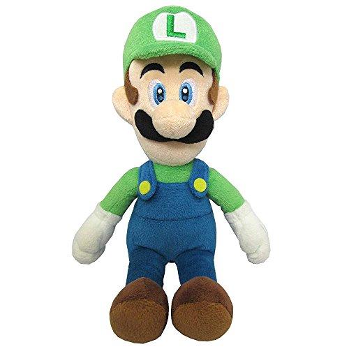 SUPER MARIO GMSM6P01LUIGINEW Bros–Licenza Nintendo 24cm Luigi Plush