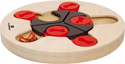 Flamingo Wooden Brain Train Hera hondenspeelgoed, 25 cm, Athena, Athena