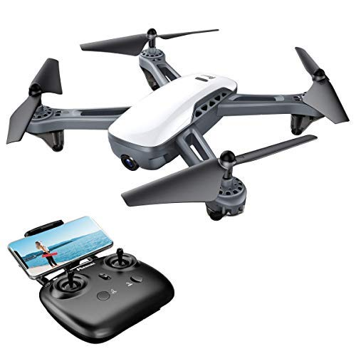 Potensic Drone Dual GPS avec Caméra HD 1080P Grand Angle Réglable RTH RC FPV WiFi 5G...