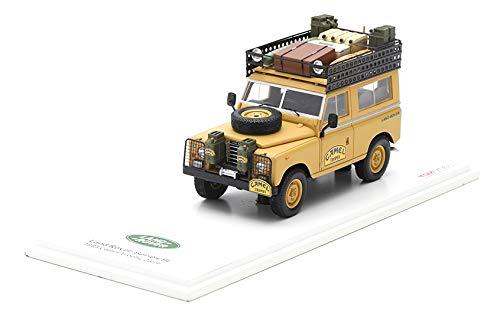 TRUE SCALE miniatures TSM164321 - Lan. Rov. 1983 Series III Swb Camel Trophy Zaire - scale 1/43 - miniature model car