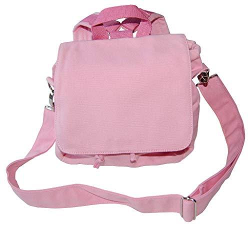Kindergartentasche ROHLING Rucksack/Tasche zum Selbstgestalten in rosa Kita-Tasche S zum Pimpen