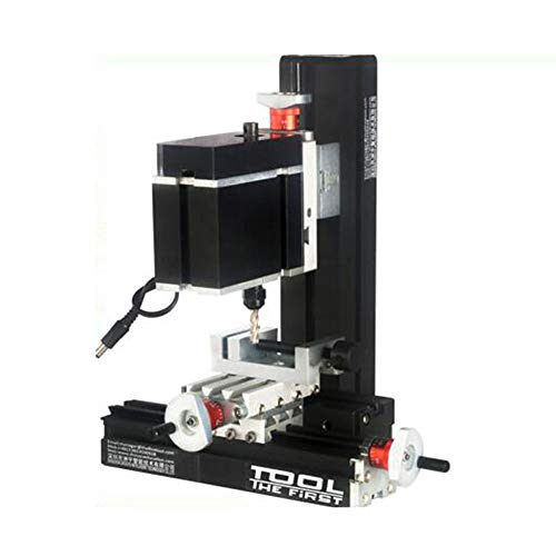 Variable Speed Single Phase Compact Benchtop Milling Machine High Power Metal Mini Lathe DIY Micro Milling Machine 12000rpm/min