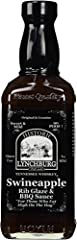 Made with Jack Daniel's Black Label Whiskey Fantastic as a Rib Glaze Great Dippin' Sauce
