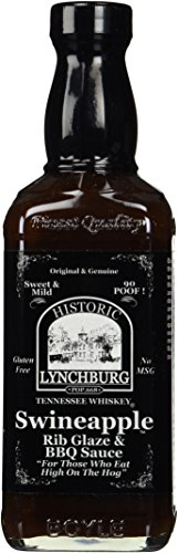 Historic Lynchburg Tennessee Whiskey Swineapple Rib Glaze & Dippin' Sauce