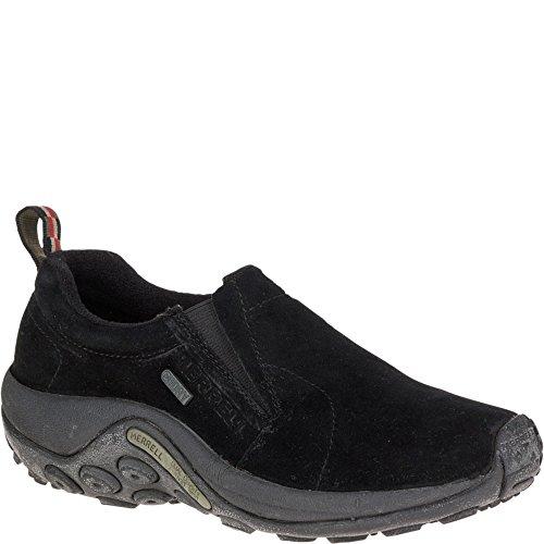 Merrell Women's Jungle Moc Waterproof Slip-On Shoe,Black,8.5 M US