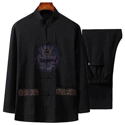 G-LIKE Herren Anzug Tangzhuang Uniform -...